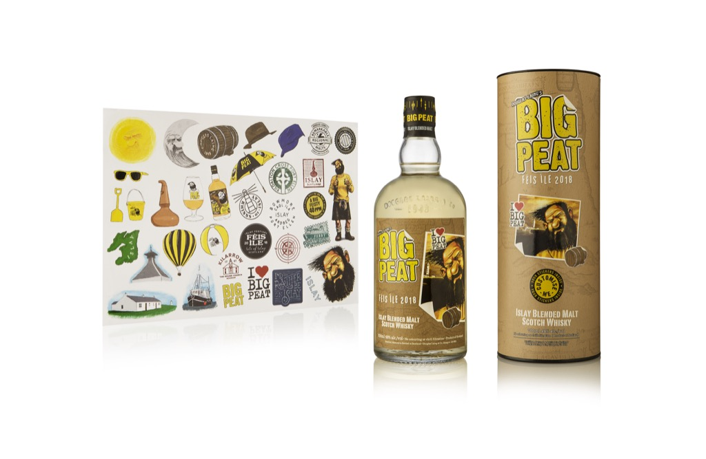 Big Peat Feis Ile 2018 with Stickers