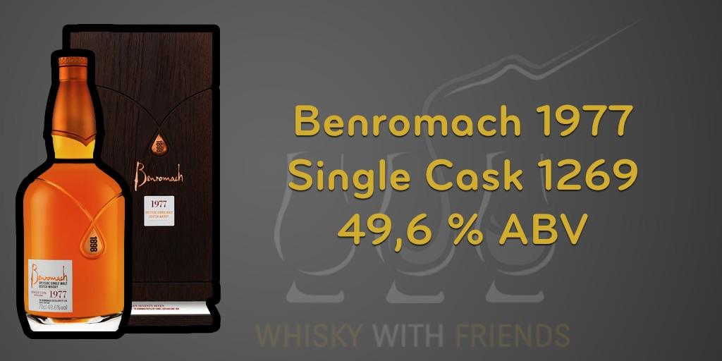 Benromach 1977 - Proefnotities
