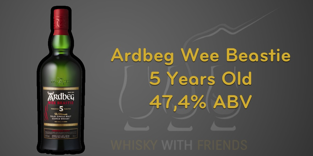 Ardbeg Wee Beastie - Proefnotities - Header