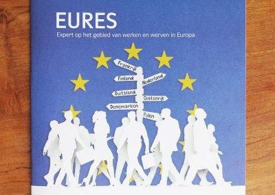 Illustrations for Brochure – Eures