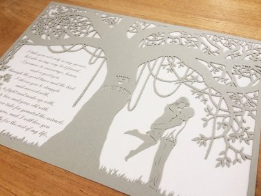 Commission Papercut Elizabeth - From right
