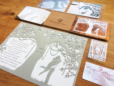 Commission Papercut Elizabeth - Shipping - Whispering Paper