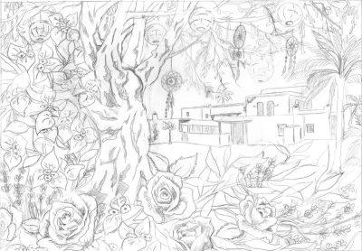 papercut chantal Wedding Anniversary Papercut - Ibiza - Design - Whispering Paper