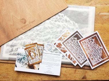 Papercut Anniversary Gift - Mountain Poem - Full Order - Whispering Paper