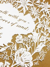 Papercut 25th Anniversary - Detail top right 2 - Whispering Paper