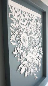 Corporate Commission - Papercut VT Wonen TV Show - Framed total left side - Whispering Paper