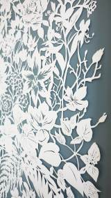 Corporate Commission - Papercut VT Wonen TV Show - Detail Middle Right - Whispering Paper