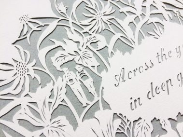Papercut 25th Anniversary - Detail top Right - Walkers - Whispering Paper