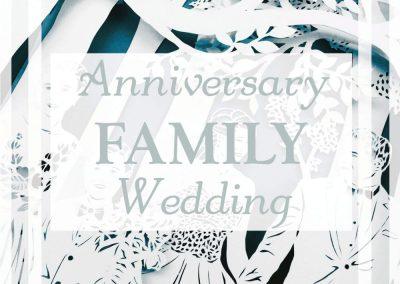 Anniversary Family Wedding