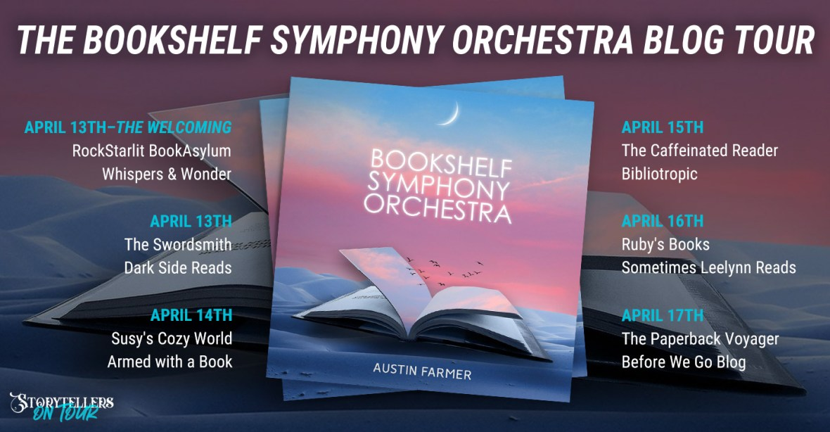The Bookshelf Symphony Orchestra Blog Tour