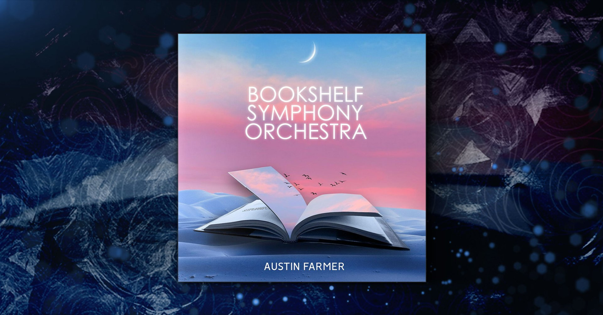 The Bookshelf Symphony Orchestra by Austin Farmer