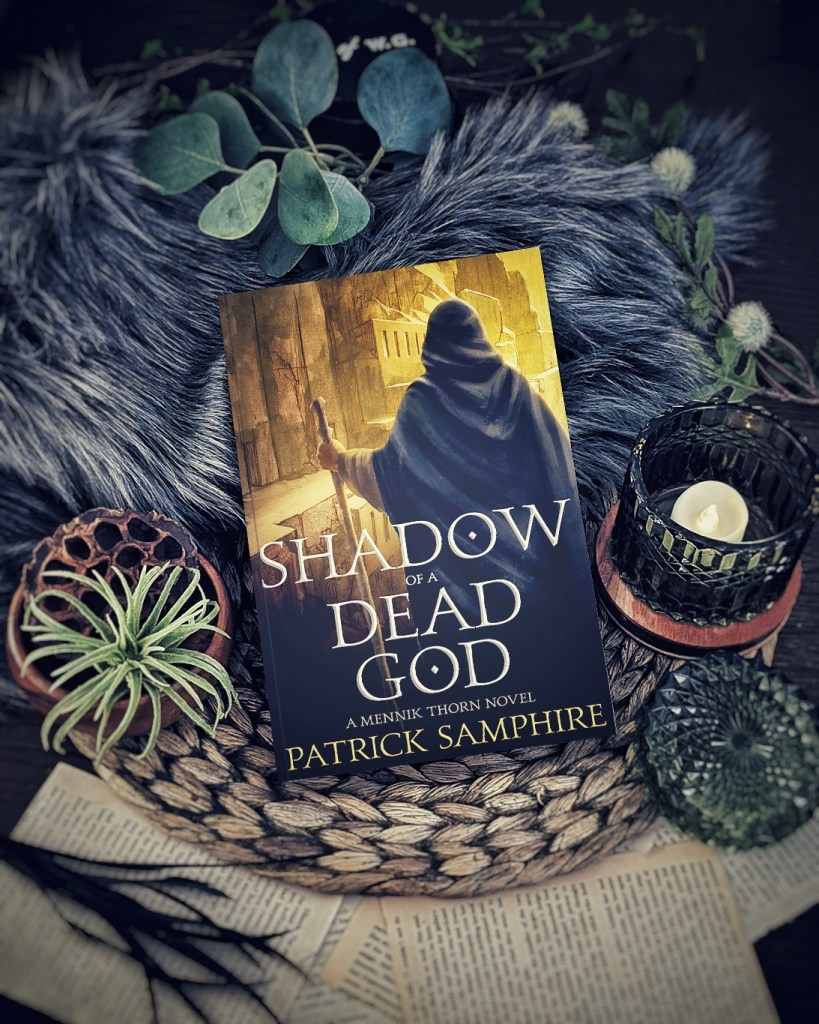 Shadow of a Dead God by Patrick Samphire