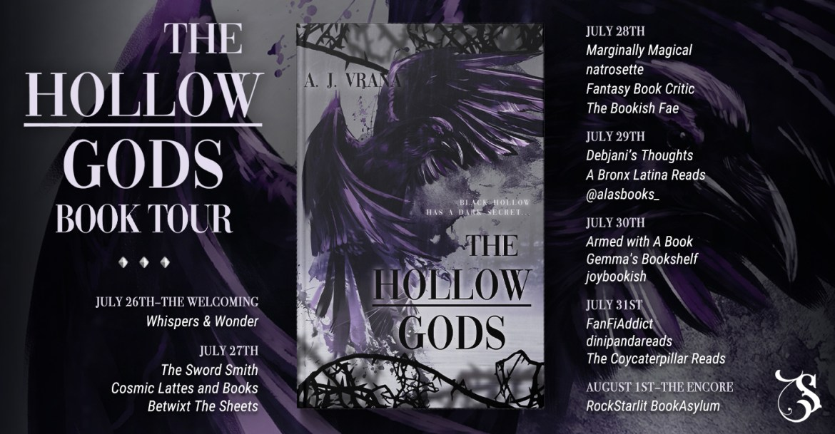 Storytellers On Tour Presents: The Hollow Gods by A. J. Vrana