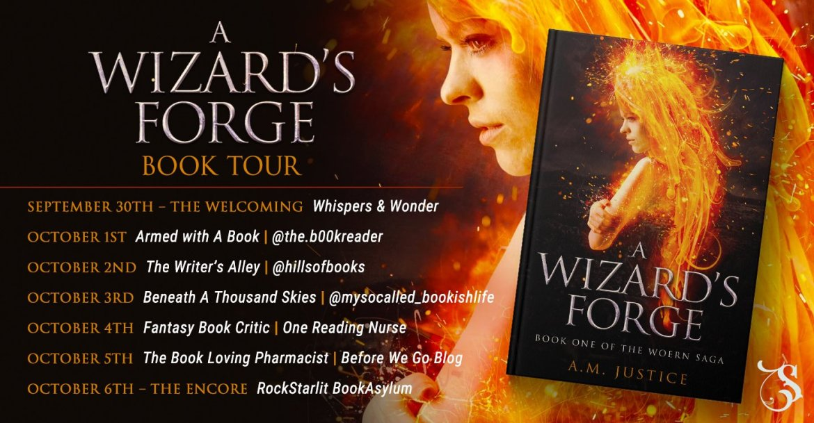 Storytellers On Tour Presents: A Wizard's Forge by A.M. Justice