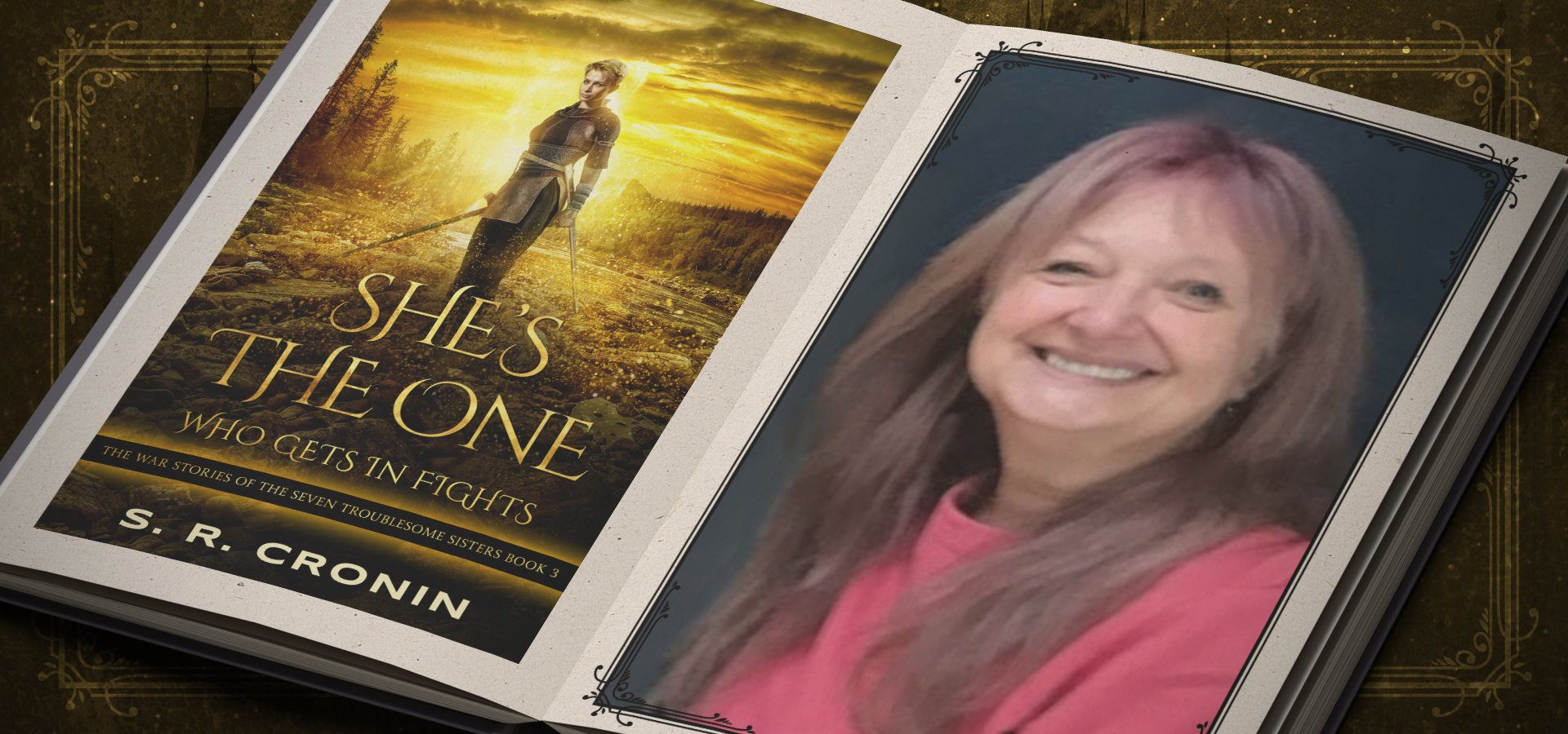 She's the One Who Gets in Fights by S. R. Cronin