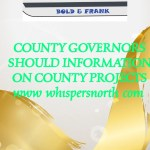 County Governors Should Provide Information On County Project