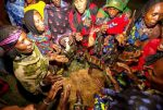 Kenya. The Borana People: The Naming Ceremony.