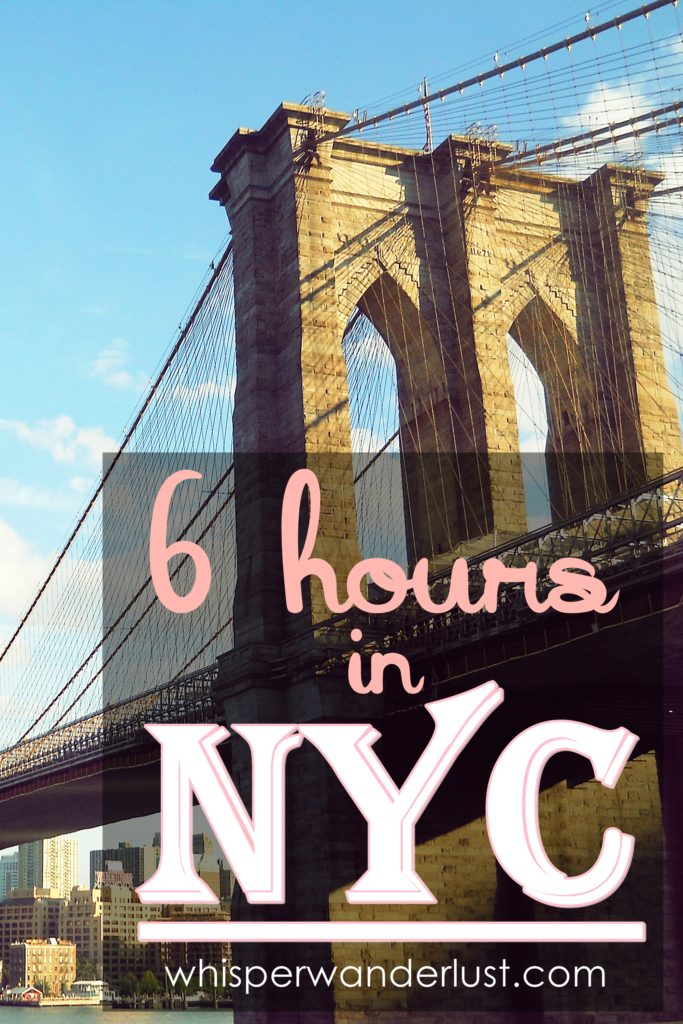 6 hours in New York City