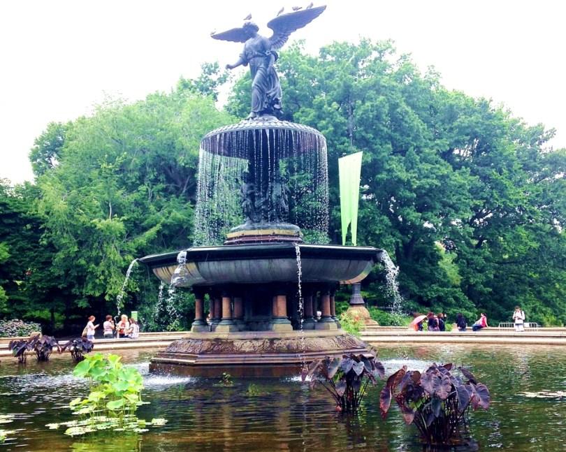 Bethesda Fountain Central Park NYC