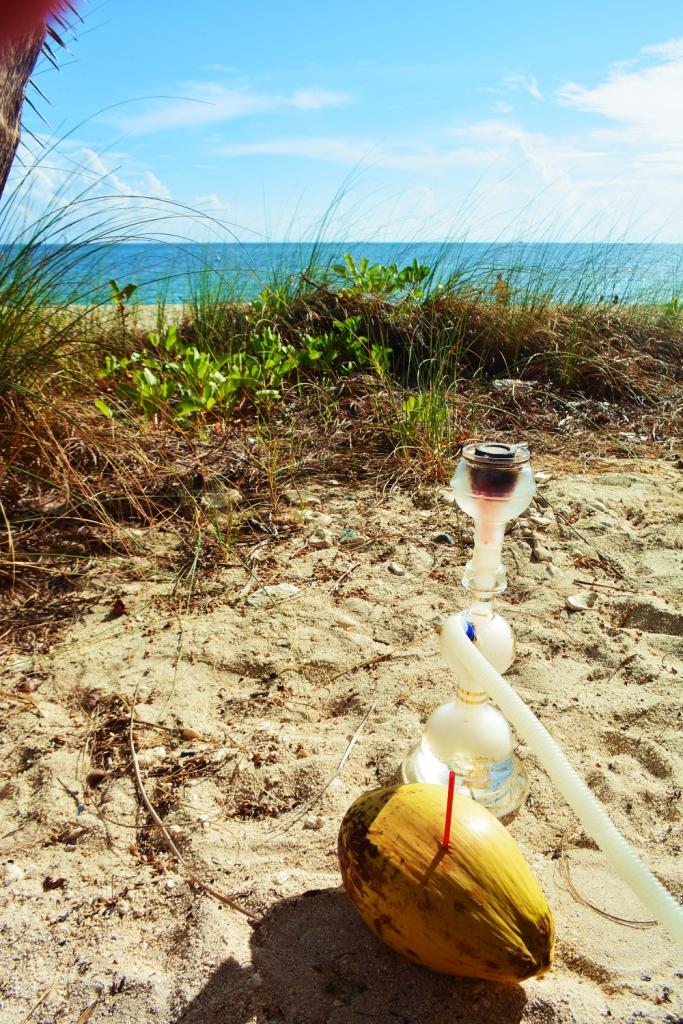 Hookah on the beach