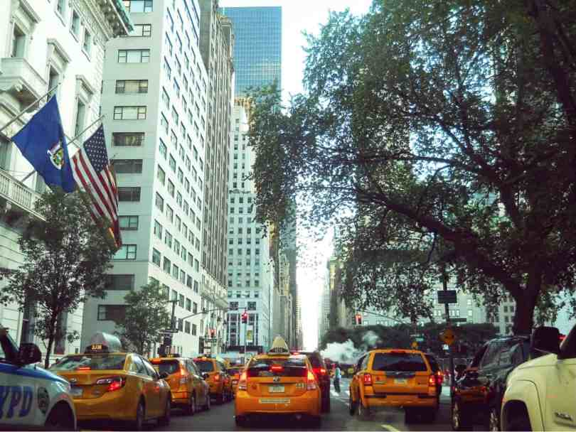 NYC Traffic Manhattan New York City cabs 5TH Avenue