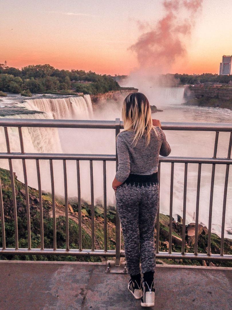 3 weeks East Coast itinerary Niagara Falls