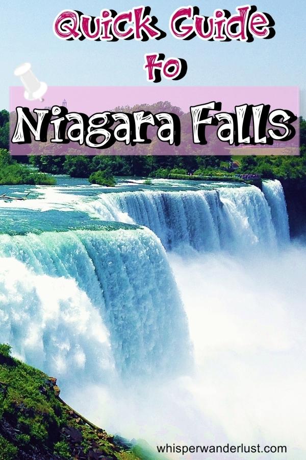 Quick Guide to Niagara Falls