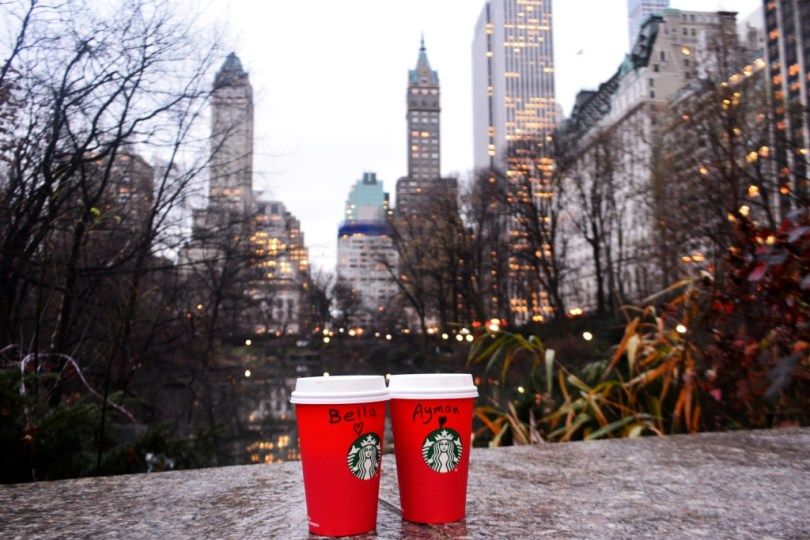 Starbucks Central Park NYC