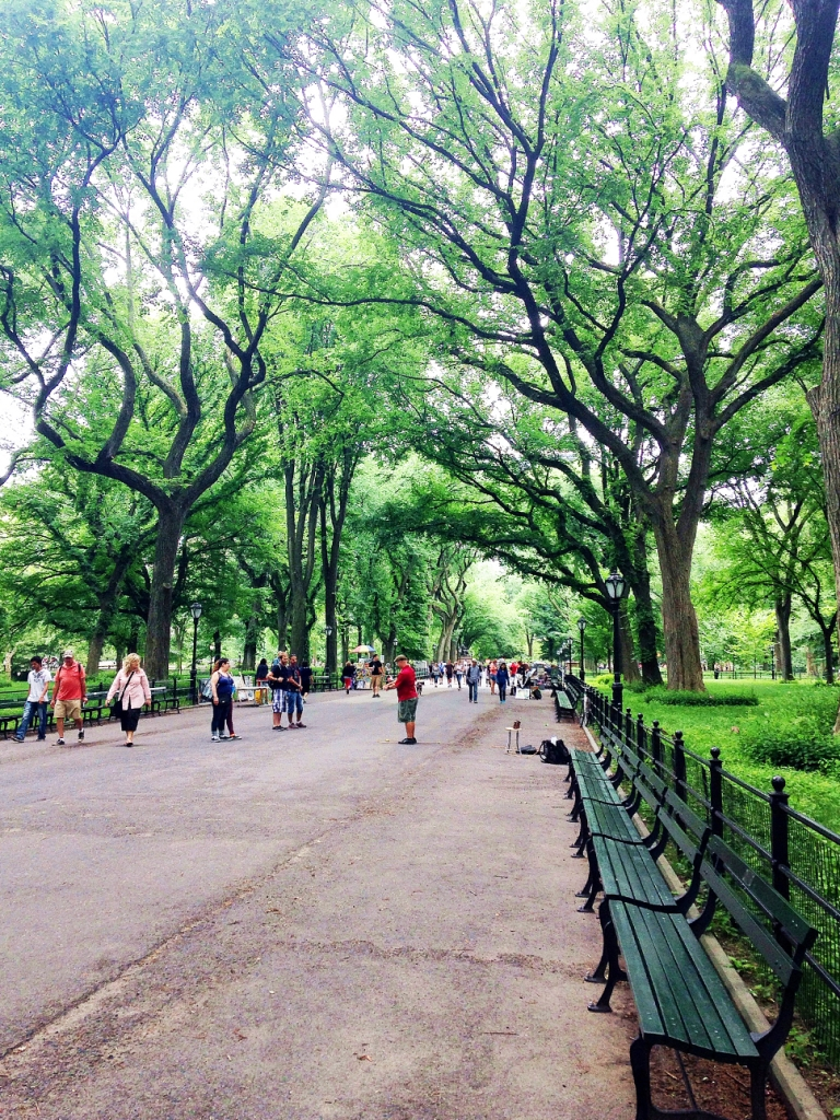 The Mall Central Park NYC
