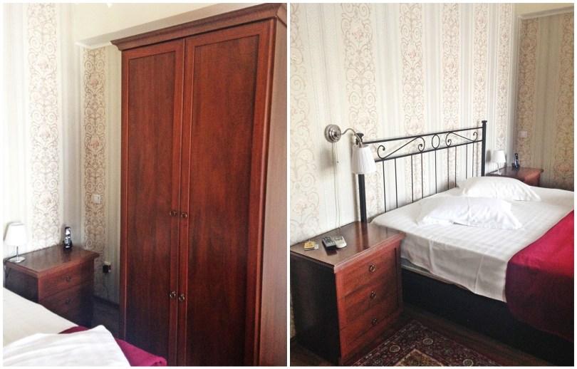 Wordrobe SS Residence Hotel Bucharest