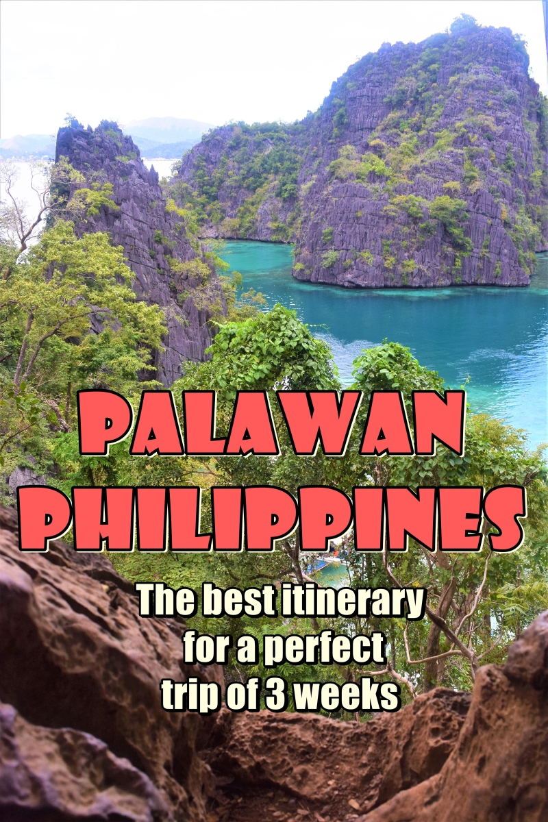 Best itinerary for Palawan Philippines