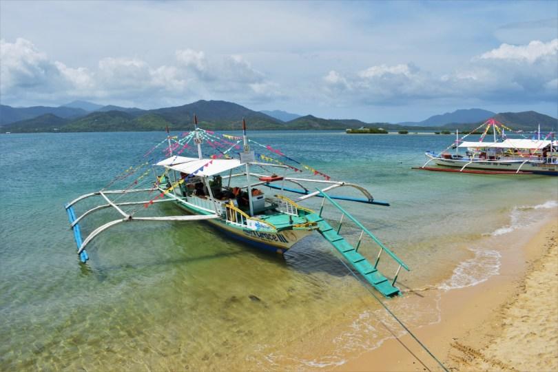 Honda Bay island hopping Puerto Princesa Palawan Philippines