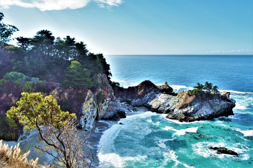 McWay California - best 15 places on the Pacific Coast