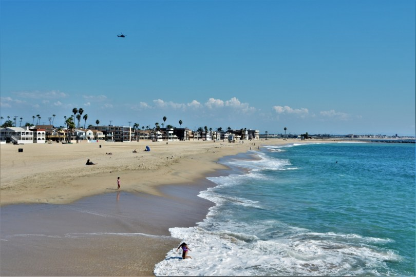 Sunset beach California
