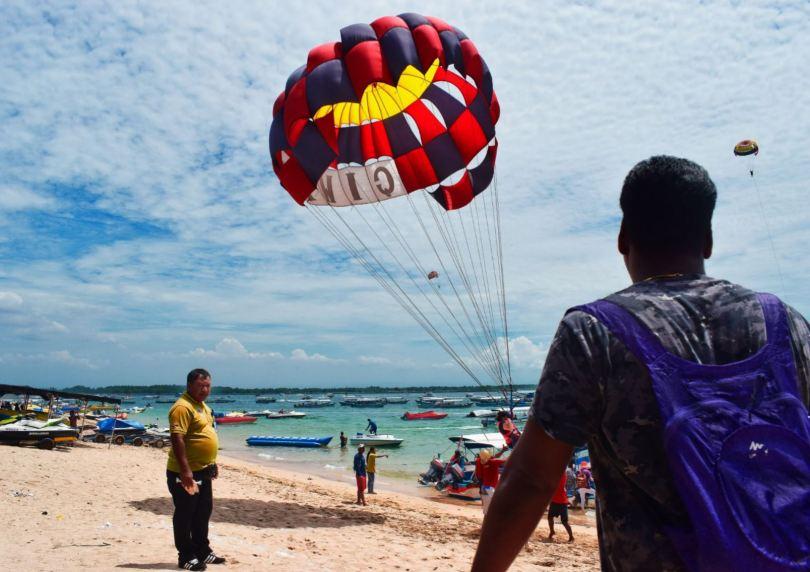 Bali parasailing