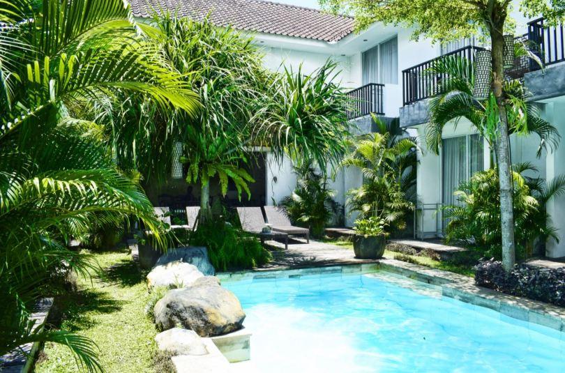 Bali accommodation: 7 Bidadari Boutique Hotel in Seminyak