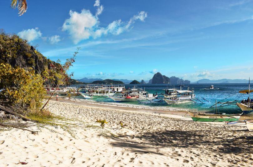 Seven Commandos beach El Nido