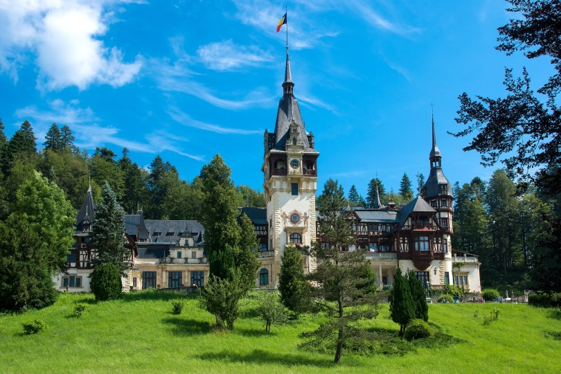 carpathian-mountains-peles-castle best places to visit in Romania