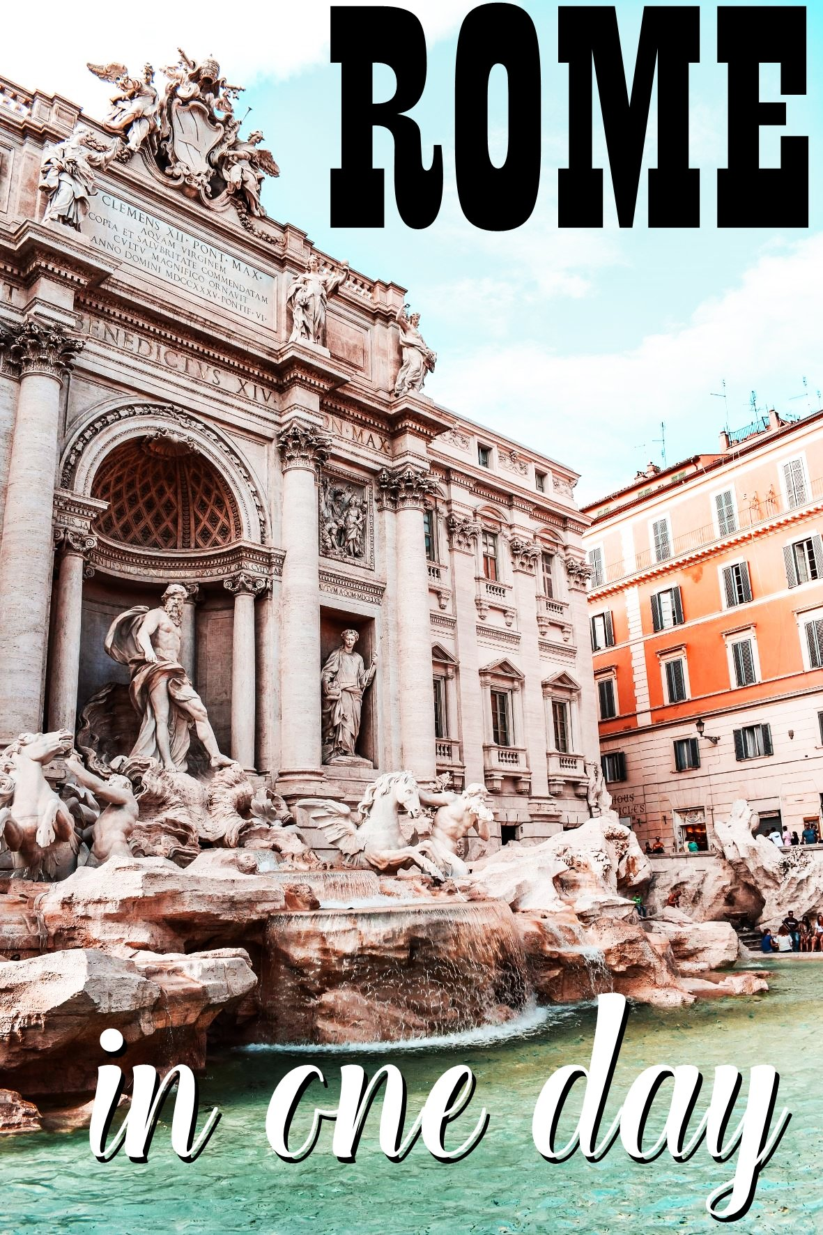 Rome in one day - Italy