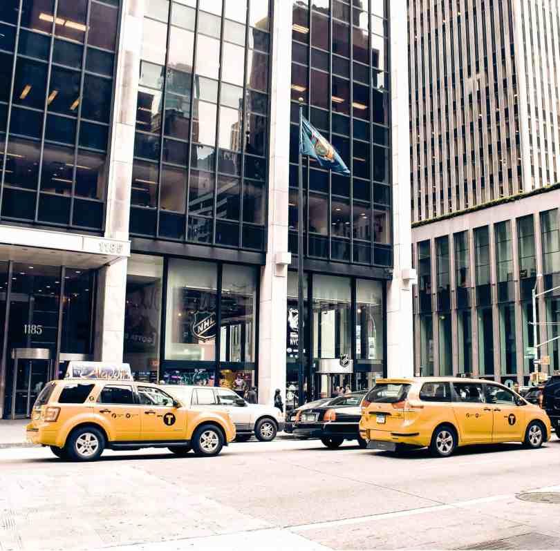 yellow cabs new york city