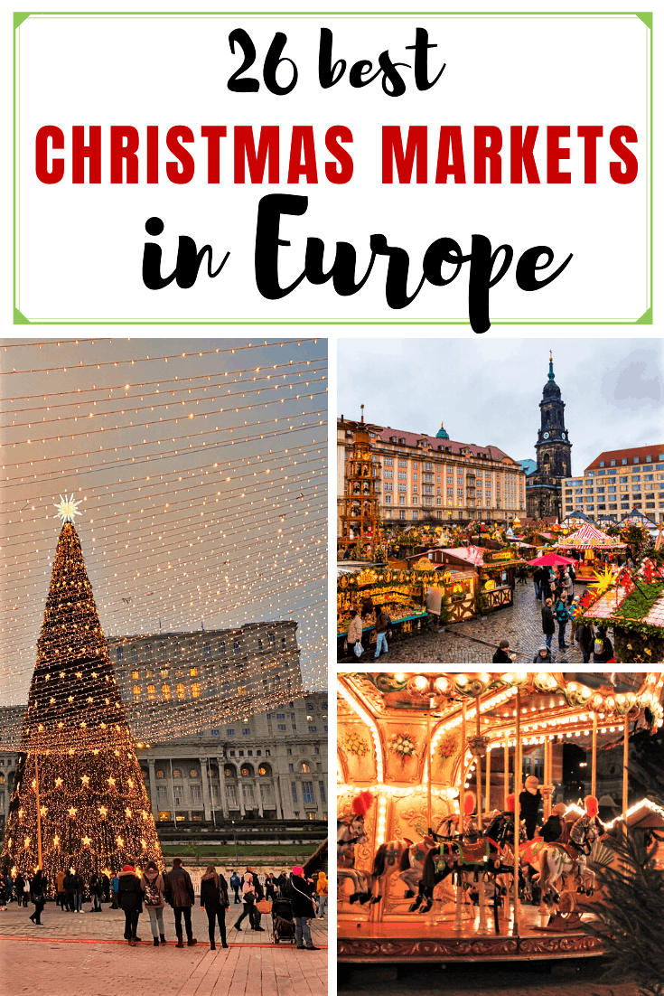 26 best christmas markets in Europe