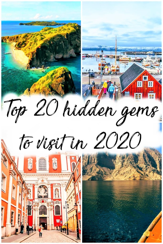 Top 20 best places to visit in 2020