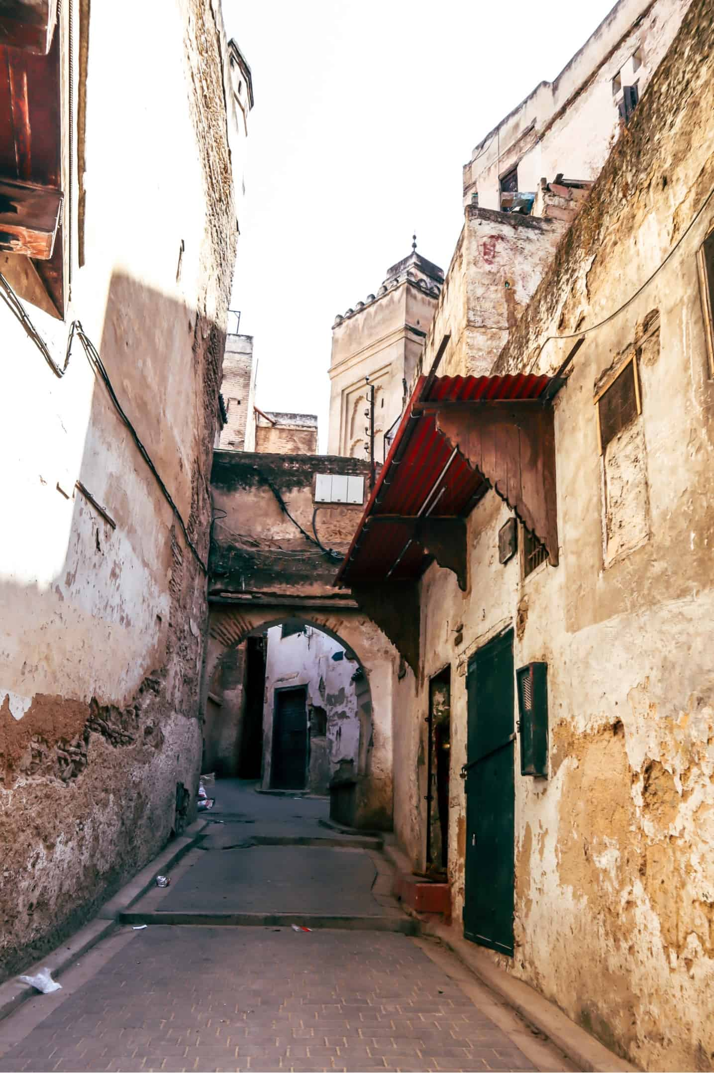 streets of Fes Morocco
