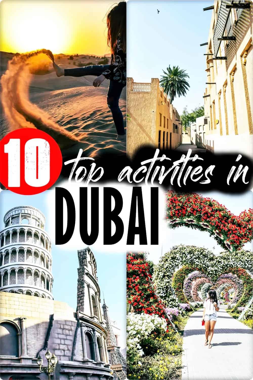 TOP 10 best activities in Dubai