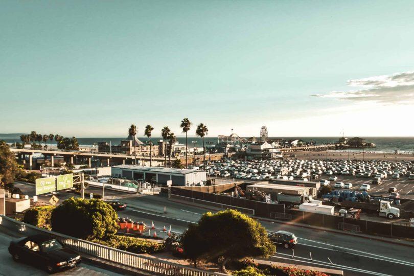 view of Santa Monica Los Angeles