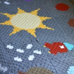 C2c Crochet Solar System Blanket Free Crochet Pattern Whistle And Ivy