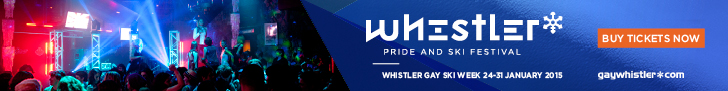 Whistler Pride Festival tickets buy now