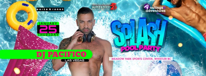 Splash Pool Party with DJ Pacifico