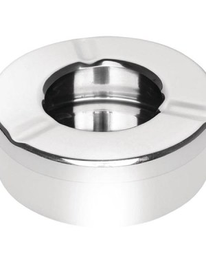 A windproof ashtray perfect for use in pub gardens and outdoor restaurant tables which stops ash being blown away. Also helps to reduce odours.