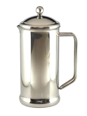 High quality polished stainless steel cafetiere which make coffee quickly and easily.  Featuring highly durable bodies.